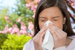 Кашель при аллергии