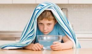 Ингаляция при сухом кашле для детей