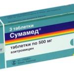 Сумамед при ангине: особенности приема препарата взрослыми и детьми